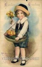 hol030225 - Artist Ellen Clapsaddle, Happy Easter Postcard Post Cards