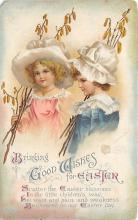 hol032001 - Artist Ellen Clapsaddle Easter Post Card