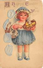 hol032002 - Artist Ellen Clapsaddle Easter Post Card