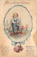 hol032003 - Artist Ellen Clapsaddle Easter Post Card