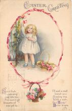 hol032004 - Artist Ellen Clapsaddle Easter Post Card