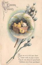 hol032013 - Artist Ellen Clapsaddle Easter Post Card