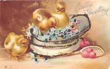 hol032019 - Artist Ellen Clapsaddle Easter Post Card