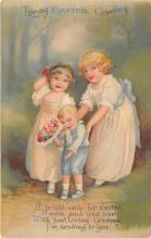 hol032021 - Artist Ellen Clapsaddle Easter Post Card