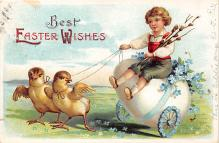 hol032024 - Artist Ellen Clapsaddle Easter Post Card