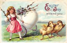 hol032025 - Artist Ellen Clapsaddle Easter Post Card