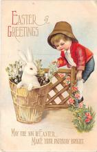 hol032040 - Artist Ellen Clapsaddle Easter Post Card