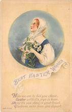 hol032043 - Artist Ellen Clapsaddle Easter Post Card