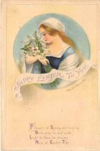 hol032044 - Artist Ellen Clapsaddle Easter Post Card