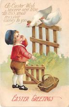 hol032046 - Artist Ellen Clapsaddle Easter Post Card