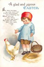 hol032048 - Artist Ellen Clapsaddle Easter Post Card