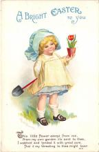 hol032049 - Artist Ellen Clapsaddle Easter Post Card