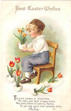hol032053 - Artist Ellen Clapsaddle Easter Post Card