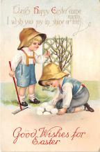 hol032056 - Artist Ellen Clapsaddle Easter Post Card