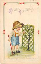 hol032057 - Artist Ellen Clapsaddle Easter Post Card