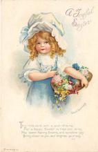 hol032058 - Artist Ellen Clapsaddle Easter Post Card