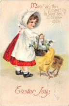 hol032059 - Artist Ellen Clapsaddle Easter Post Card