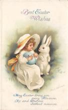 hol032064 - Artist Ellen Clapsaddle Easter Post Card