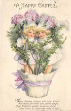 hol032082 - Artist Ellen Clapsaddle Easter Post Card