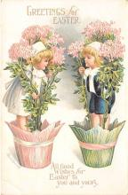 hol032083 - Artist Ellen Clapsaddle Easter Post Card