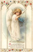 hol032092 - Artist Ellen Clapsaddle Easter Post Card