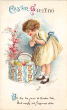 hol032104 - Artist Ellen Clapsaddle Easter Post Card