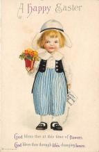 hol032106 - Artist Ellen Clapsaddle Easter Post Card