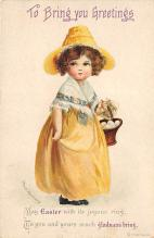 hol032107 - Artist Ellen Clapsaddle Easter Post Card