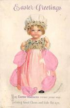 hol032108 - Artist Ellen Clapsaddle Easter Post Card