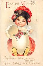 hol032111 - Artist Ellen Clapsaddle Easter Post Card