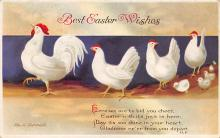 hol032123 - Artist Ellen Clapsaddle Easter Post Card