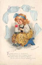 hol032129 - Artist Ellen Clapsaddle Easter Post Card