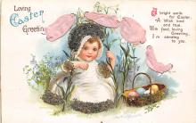 hol032130 - Artist Ellen Clapsaddle Easter Post Card