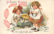 hol032132 - Artist Ellen Clapsaddle Easter Post Card