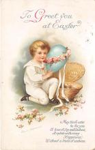 hol032137 - Artist Ellen Clapsaddle Easter Post Card