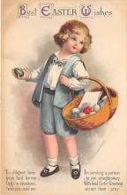 hol032141 - Artist Ellen Clapsaddle Easter Post Card