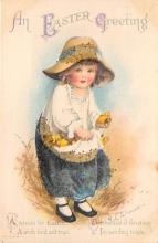 hol032144 - Artist Ellen Clapsaddle Easter Post Card