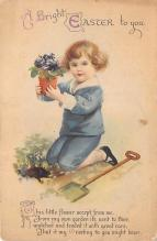 hol032145 - Artist Ellen Clapsaddle Easter Post Card