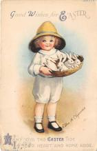 hol032153 - Artist Ellen Clapsaddle Easter Post Card