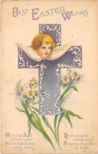 hol032157 - Artist Ellen Clapsaddle Easter Post Card
