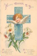 hol032158 - Artist Ellen Clapsaddle Easter Post Card