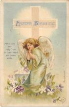 hol032171 - Artist Ellen Clapsaddle Easter Post Card