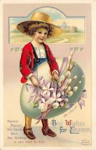 hol032177 - Artist Ellen Clapsaddle Easter Post Card