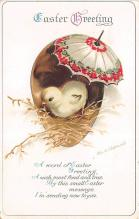 hol032182 - Artist Ellen Clapsaddle Easter Post Card