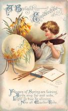 hol032183 - Artist Ellen Clapsaddle Easter Post Card