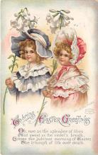 hol032185 - Artist Ellen Clapsaddle Easter Post Card