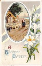 hol032193 - Artist Ellen Clapsaddle Easter Post Card