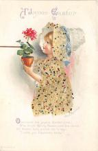 hol032194 - Artist Ellen Clapsaddle Easter Post Card