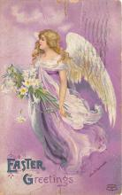 hol032195 - Artist Ellen Clapsaddle Easter Post Card