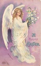 hol032196 - Artist Ellen Clapsaddle Easter Post Card